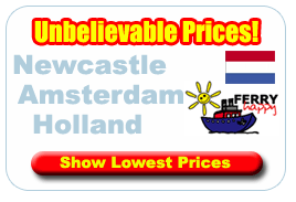 Book Cheap ferry To Amsterdam
